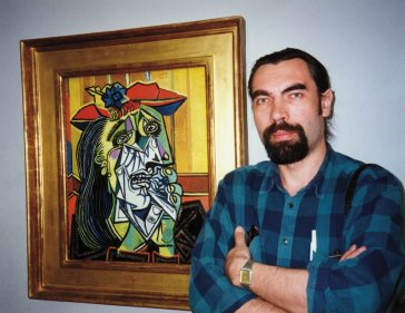 1995 Pred Picassovým obrazom v Tate Gallery, Londýn