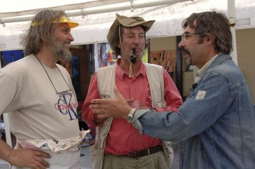2006 S Borisem Jirků a hercom Bolkom Polívkom With Jirků and actor Bolek Polívka
