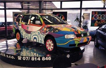 1997 Moje prvé pomaľované auto My fi rst painted car