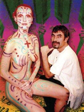 2004 Ukážka bodypaintingu Bodypainting
