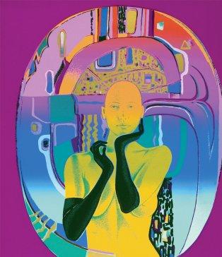 Démon IV | Demon IV, 1991 serigrafi a | serigraphy, 70 × 60 cm