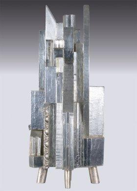 Azcapotzalco | Azcapotzalco, 2000 polychromované drevo | polychrome wood, 45 × 30 × 28 cm