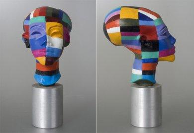 Nový Egypt | New Egypt, 2003 kombinovaná technika | mixed media, 30 cm