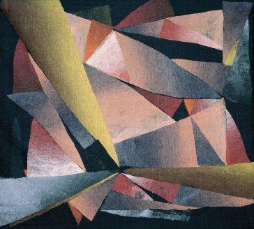 Čierna diera | Black Hole, 1993 art protis | art protis, 120 × 120 cm