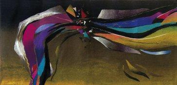 Lagúna | Lagoon, 1992 art protis | art protis, 135 × 289 cm