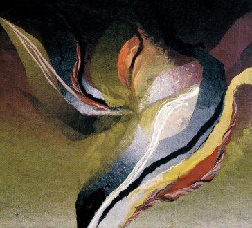 Polnočný kvet | Midnight Flower, 1987 art protis | art protis, 90 × 110 cm