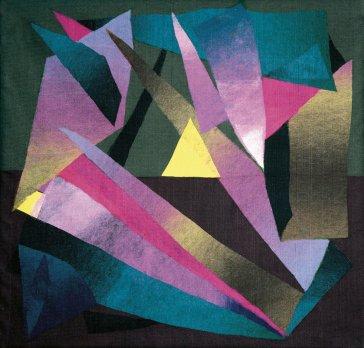 Žltý horizont | Yellow Horizon, 1996 art protis | art protis, 75 × 95 cm
