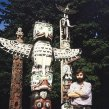 1991 Pri indiánskych totemoch vo Vancouveri