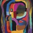 Iluminácia | Illumination, 1991 art protis | art protis, 164 × 116 cm