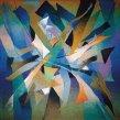 Z prírody | From Nature, 1986 art protis | art protis, 110 × 110 cm